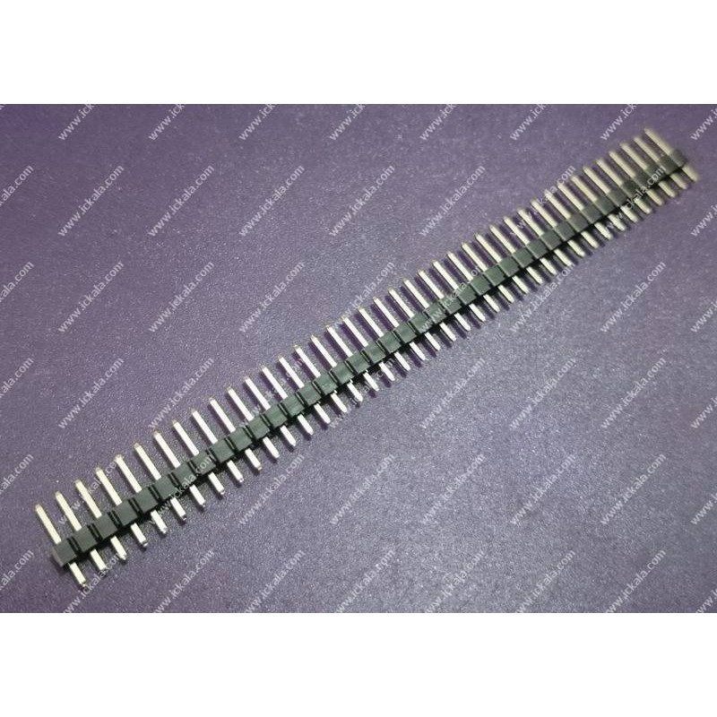 Pin header - male-1x40