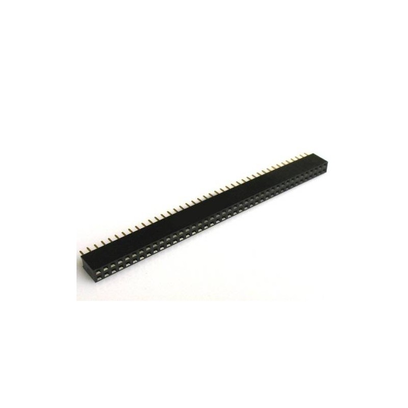 Pin header - feMale-2x40