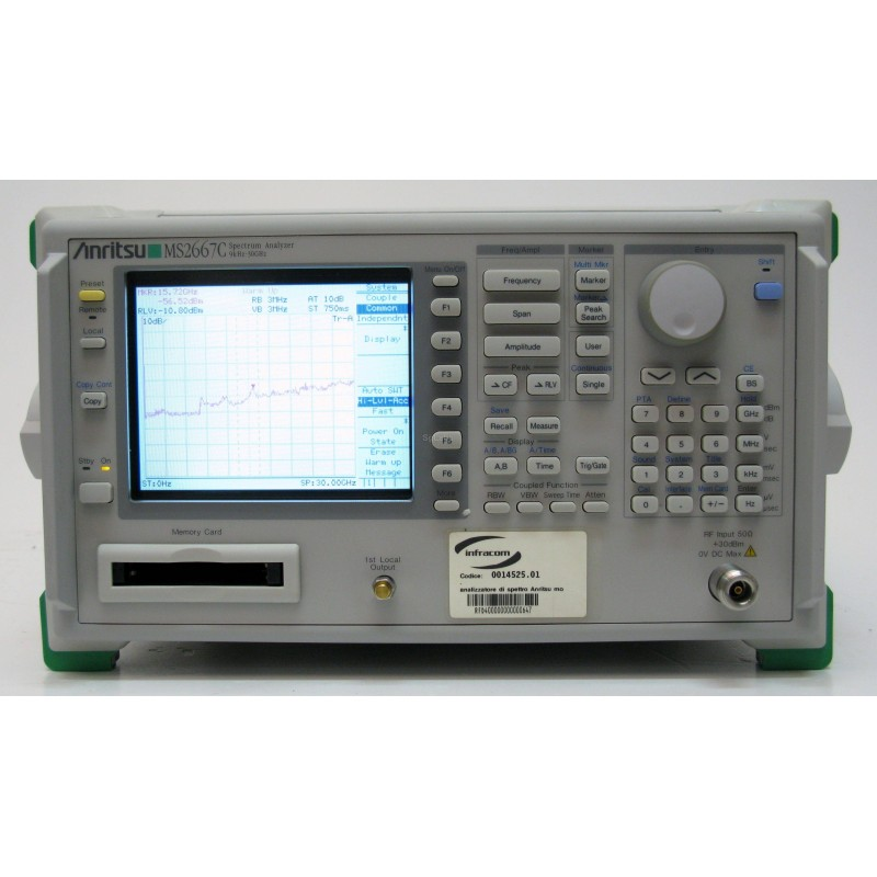 ANRITSU MS2667C 30GHz Spectrum Analyzer