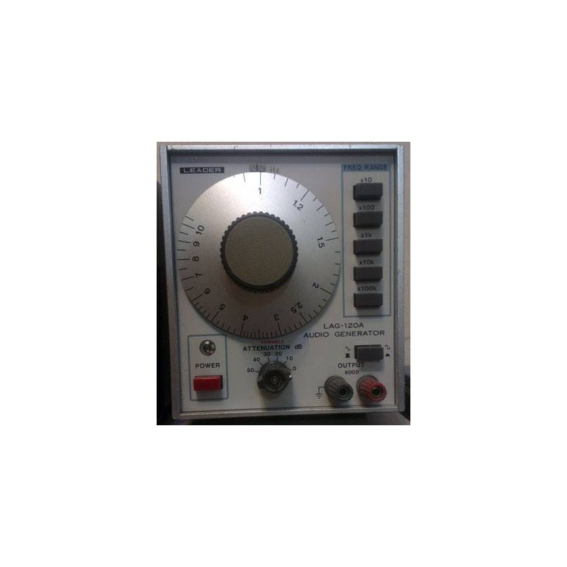 LEADER LAG120A AUDIO GENERATOR